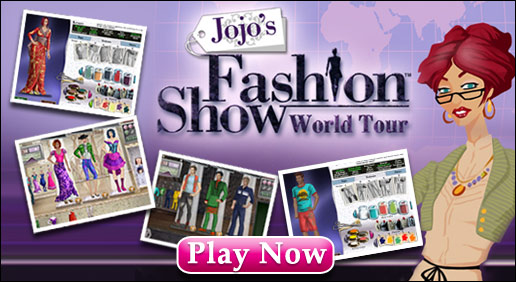 Free Jojo's Fashion Show World Tour Dress Up Game!