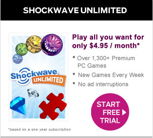 Shockwave Unlimited: Play this game for free for 10 days!