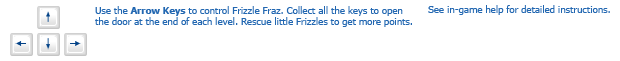 Frizzle Fraz instructions