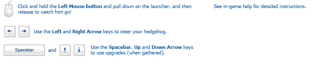 Hedgehog Launch 2 instructions
