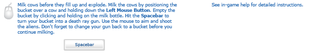 The Way of the Exploding Cow instructions