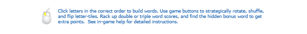 Toss Words® instructions