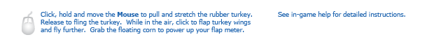 Turkey Fling instructions