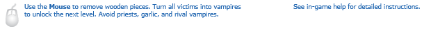 Vampire Physics instructions