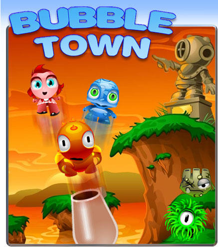 buble town