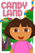 Candy Land - Dora the Explorer Edition