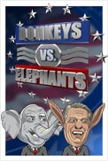 Donkeys vs Elephants